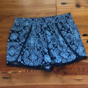 Girls justice shorts size 16